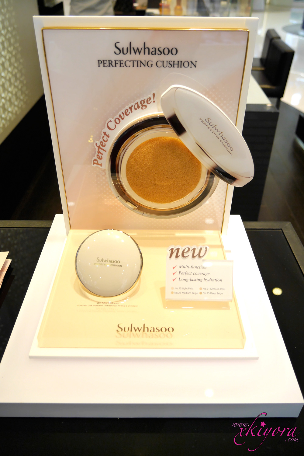 sulwhasoo New Perfecting Cushion Intense Refill No 21 Medium Pink Fancy Colours