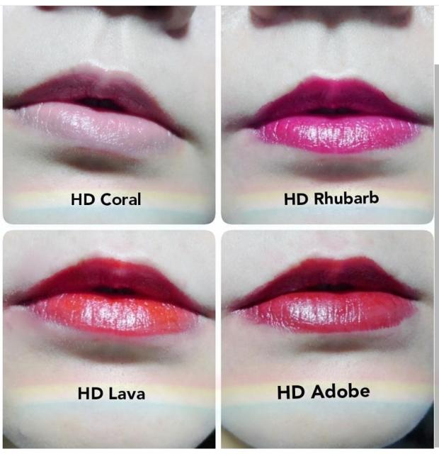 Revlon Ultra HD Gel Lipstick Reds 2